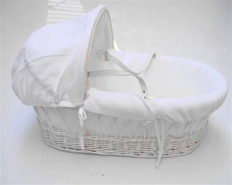 Baby Moses Baskets And Cribs by Strong Portable Travel Wicker New Baby Babies Bassinet Cot