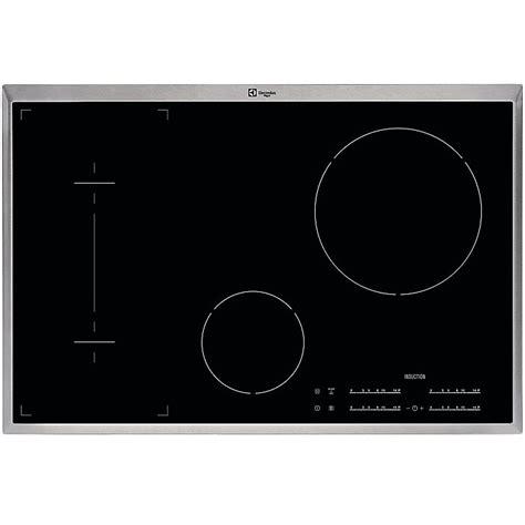 piani cottura induzione rex rex electrolux kti8500xe piano cottura a induzione 80 cm 4