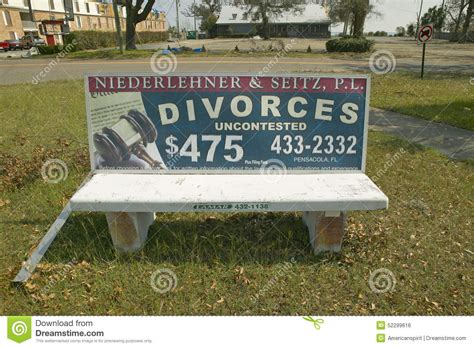bench ad fast cheap divorce for 475 on bench advertisement in
