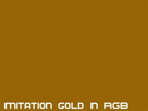 gold color rgb rgb color code gold images