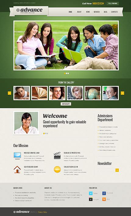 themes education wordpress 50 hand picked education wordpress themes for spreading