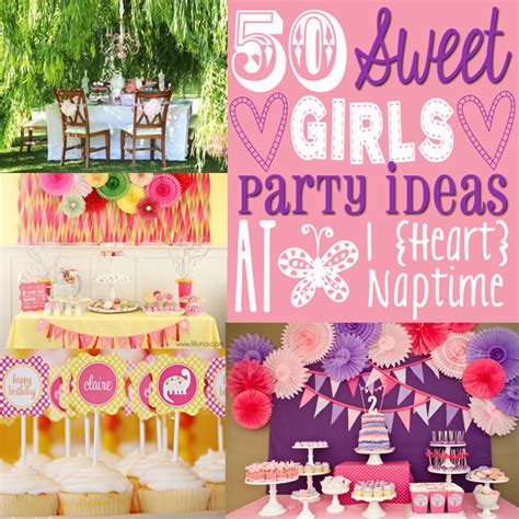 themes for little girl parties 50 awesome girls party ideas