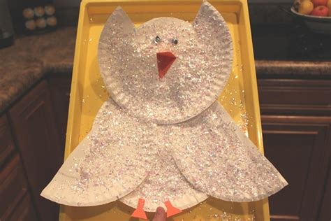 Canon Paper Craft Snowy Owl Paper - snowy owl craft owls crafts arctic
