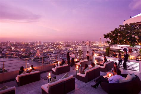 roof top bar bangkok 360 rooftop bar at millennium hilton bangkok com magazine