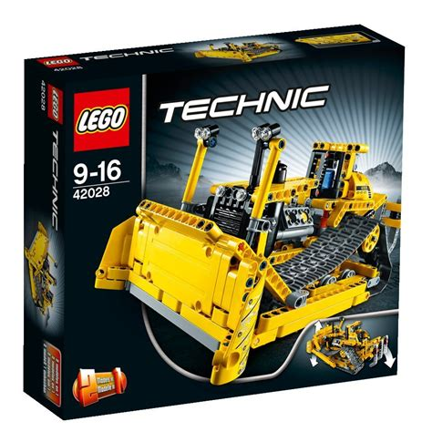 lego technic la prova bulldozer 42028 hobbymedia
