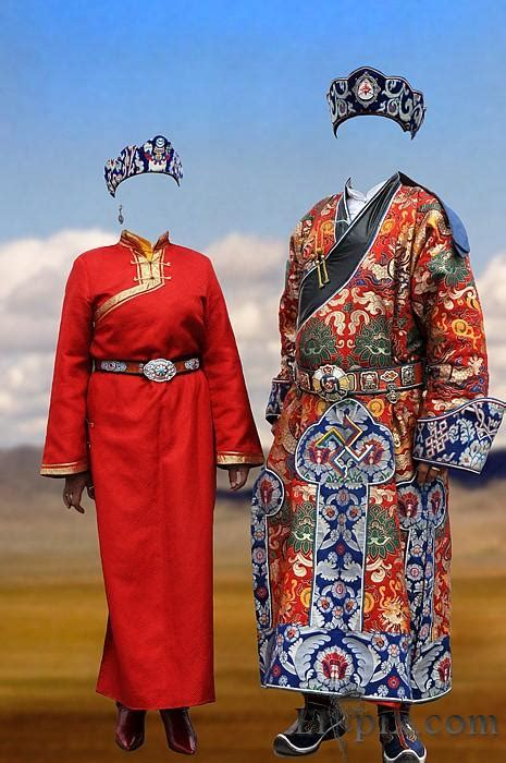 photoshop costume templates free template for photoshop traditional mongolian costume