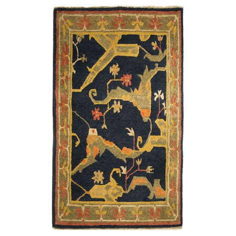 black and green rug tufenkian transitional black green gold wool rug 5641 andonian rugs seattle bellevue store