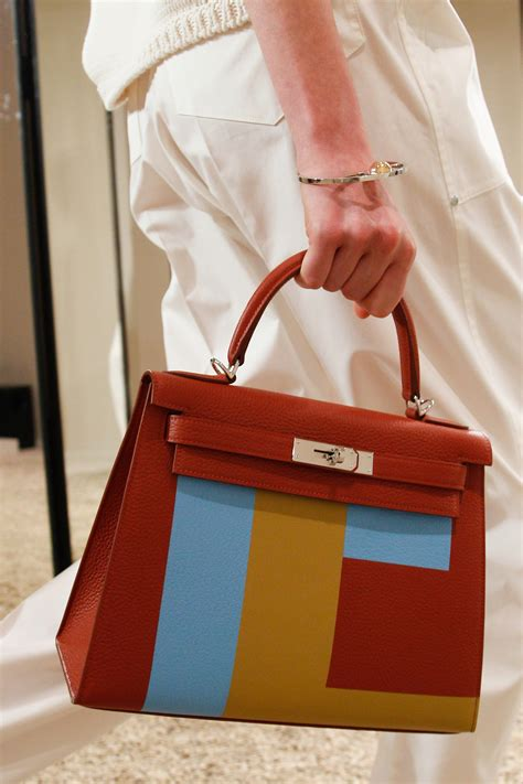 New Collection Fashion Hermes hermes resort 2018 runway bag collection includes birkin with piping spotted fashion