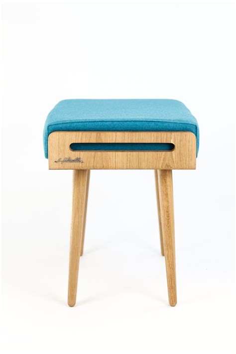 ottoman stool bench stool seat stool ottoman bench made of solid oak