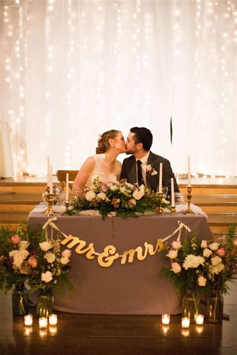 Best 25 bride groom table ideas on pinterest sweet heart table wedding reception decorations