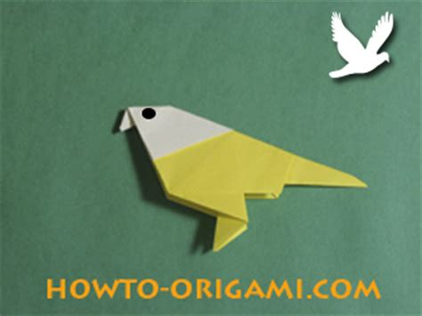 Easy Bird Origami For - birds origami how to make origami bird easy origami