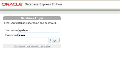 tutorial oracle database 10g express edition creating a new database user account in oracle 10g