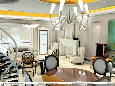 interior exterior plan large and stylish living room interior exterior plan decorating living room of duplex