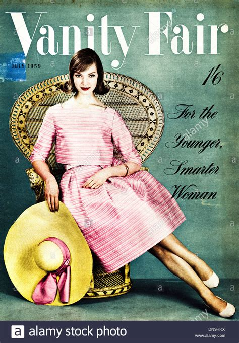 Vanity Fair Stock by 1950s Vanity Fair Cover Vintage Original S Fashion