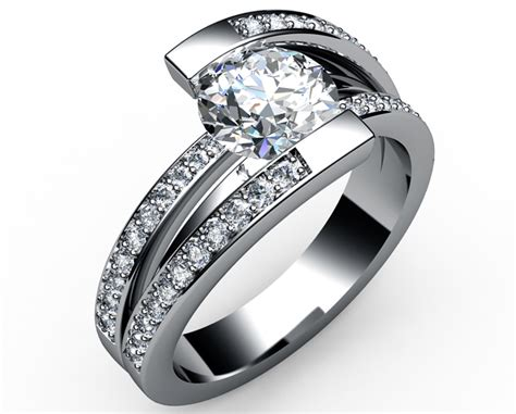 Modern Engagement Rings by Best Modern Designer Engagement Rings Engagement Rings Depot
