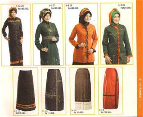 desain baju muslim modis buat cewek busana muslim terbaru