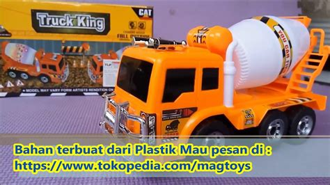 Mainan Anak Mobil Mobilan Truk Molen mainan truk molen tanpa remot