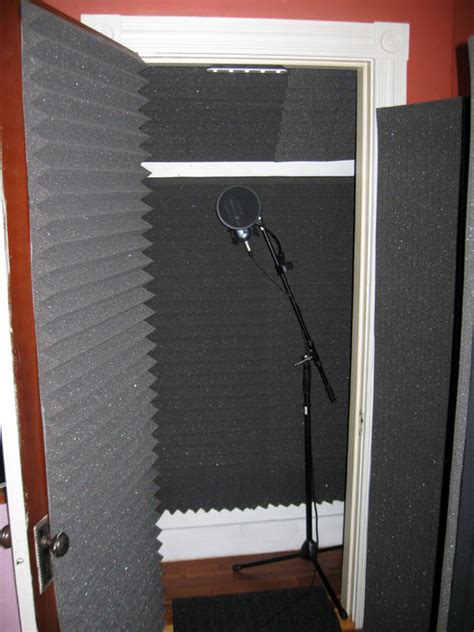 Closet Recording Booth by Diy Recording Booth Closet