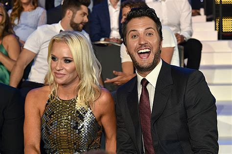 Luke Bryan's Wife Sports Massive Diamond Ring at CMT Ceremony
