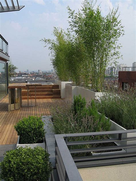 garten terrasse dach terrace roof garden corner