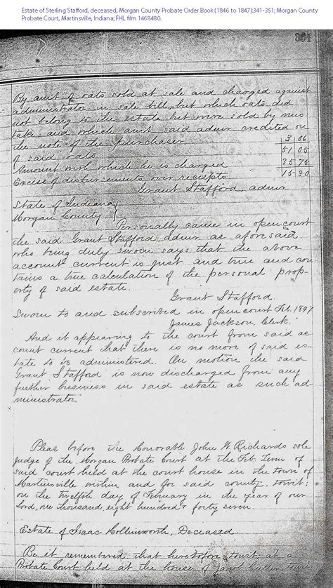 Stafford County Court Records Starling Stafford Genealogy