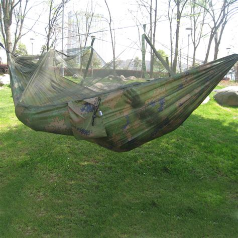 hammock bed all portable travel jungle outdoor hanging cing tent