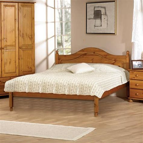 double bedroom aarhus pine 4ft 6 double bed including free delivery 109
