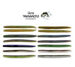 gary yamamoto senko color chart gary yamamoto senko 5 quot 13 cm 10 pack colors 900 to 976