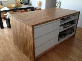 ikea kitchen island with drawers malm meets numerar kitchen island ikea hackers ikea