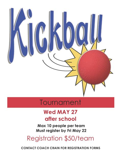 Kickball Sponsorship Letter The Gallery For Gt Basketball Tournament Flyer