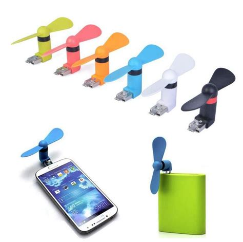 Kipas Mini Portable Otg Kipas Angin Android kipas angin android otg portable mini micro usb fan