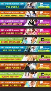 cdi college web banner design