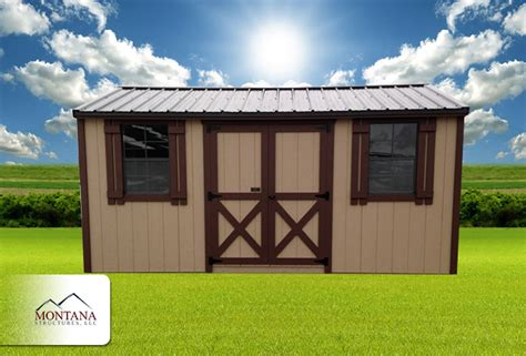 Montana Shed by Sheds Montana Structures