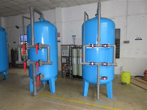 Water Filter Tank activated carbon sand multimedia filter tank price in