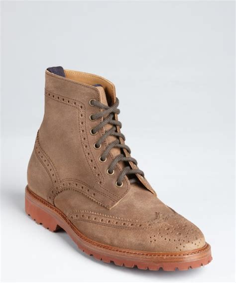 light brown wingtip shoes brunello cucinelli light brown leather lace up wingtip