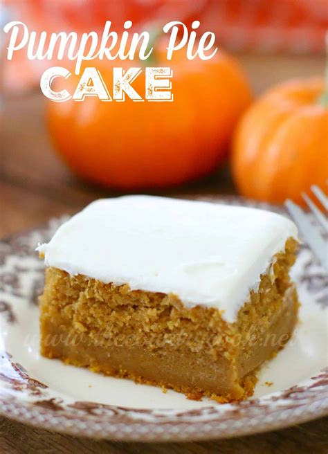 pumpkin cake with cake mix pumpkin pie cake the country cook