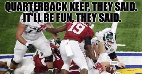 Michigan State Football Memes - best alabama vs michigan state football memes from the