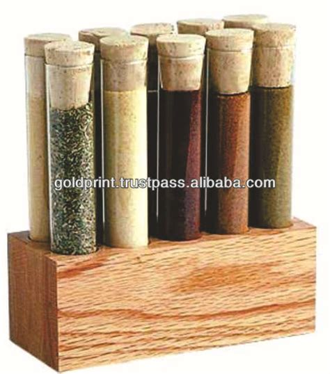 Spice Rack Display Spice Display Wooden Test Rack Or Use In The