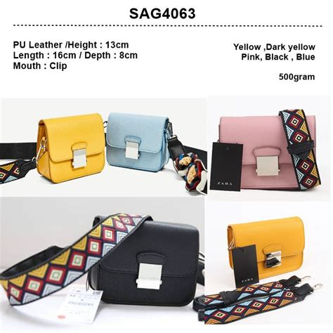 Produk Fashion Smile Yellow Termurah tas fashions import sag4063 black yellow light yellow blue pink shopee indonesia