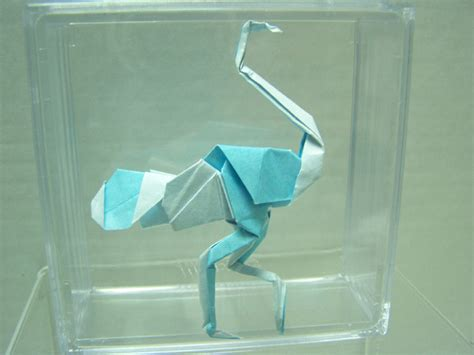 Robert Harbin Origami - these are the folds i i ostrich warner