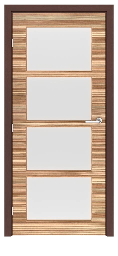 Closet Doors Denver Zebrawood Denver Glass Interior Door