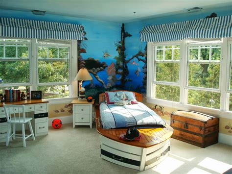 ordinary White Bedroom Furniture Sets Ikea #2: interior-design-blue-sea-color-of-wall-paint-decoration-with-mural-excerpt-cool-bedroom-accessories_bed-orange-with-blue_bedroom_boys-bedroom-ideas-master-paint-houzz-small-1-apartments-for-rent-desig.jpg