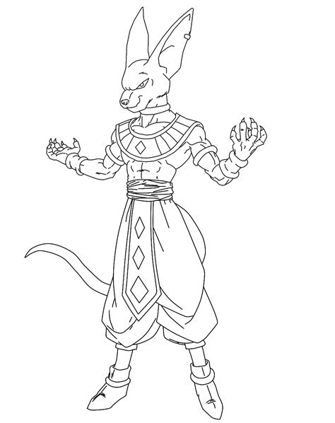dbz lord bills coloring pages coloring pages