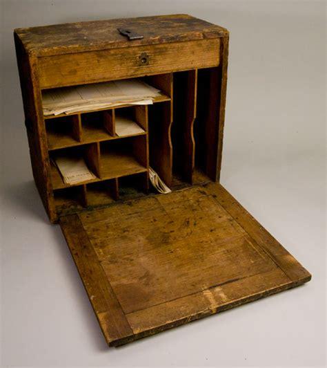 vicks woodworking plans build wooden civil war officers field desk plans