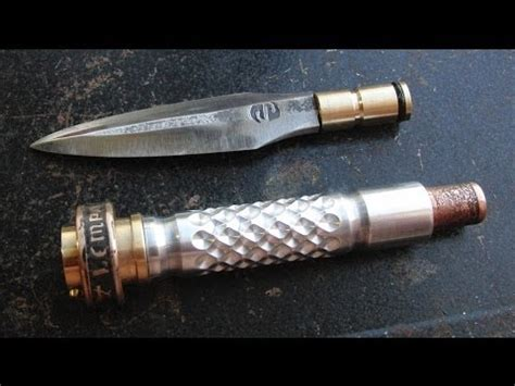 diving knife co2 compressed air ballistic knife testing