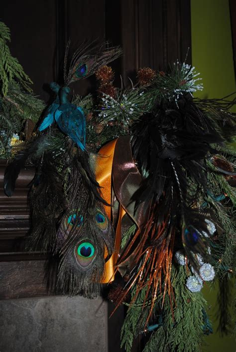peacock christmas ornaments cheap 64 best images about peacock on trees tabletop and trees