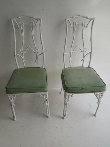 Cast Iron Dining Chairs Key Metals And Regency On Pinterest