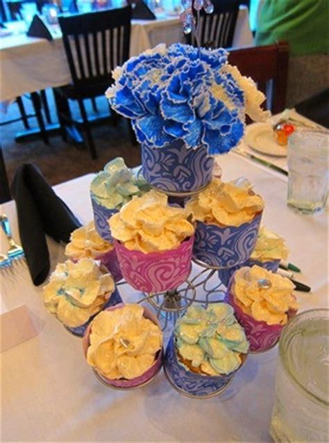 cupcake arrangements for bridal shower 17 best images about flower centerpiece on floral arrangements jar weddings