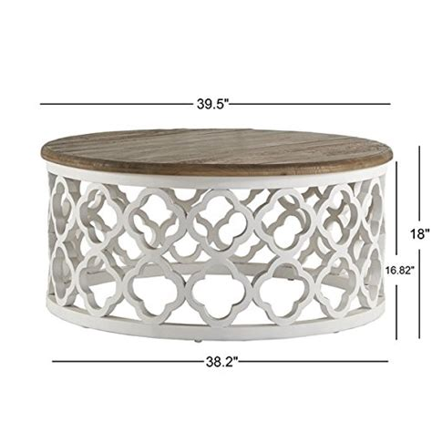 Cedar Dining Room Table Signal Hills Vince Reclaimed Wood Moroccan Trellis Drum