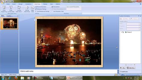 How To Use Ms Powerpoint 2007 Custom Animation Youtube Free Animation For Powerpoint 2007